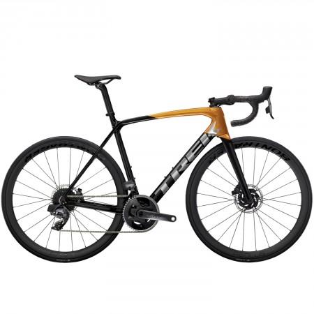 Vélo route Trek Emonda SL 7 Disc eTap carbone orange 2021