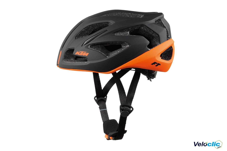 KTM Casque Factory équipe MTB-Taille 58-62 Orange Mat