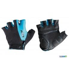 Gants courts Ktm Factory Line noir / bleu