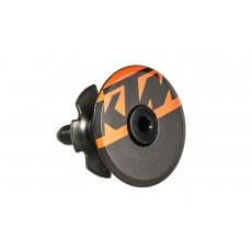 KTM Bouchon Noir Orange Team 1 1/8