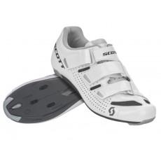 Chaussures Scott Road Comp Dame Blanc / Noir 2020