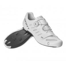 Chaussures Scott Road Team Boa Blanc / Argent 2020
