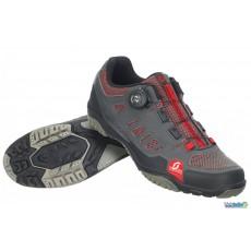 Chaussures Scott Sport Crus-R Boa Gris / Rouge 2020
