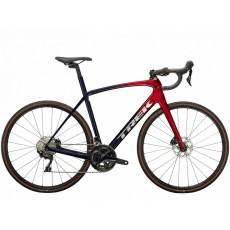 Vélo route Trek Domane SL 5 rouge bleu 2022