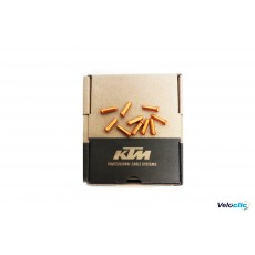 Ktm Embouts de cables orange