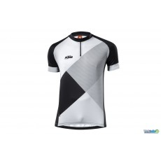 Ktm maillot Factory Character II Vtt blanc / noir