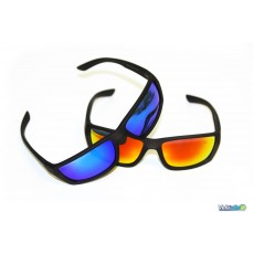 Ktm Lunettes Factory line Irridium orange / bleu